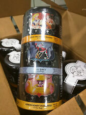 NEW Disney Alice in Wonderland Tea Set Unbirthday LOT 6 Tubes 18 Nesting Tins