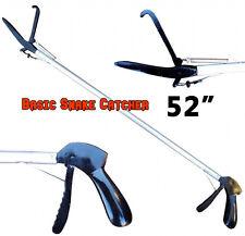 """52"""" Basic SNAKE TONGS Reptile Grabber Rattle Snake Catcher JAW Handling Tool"""