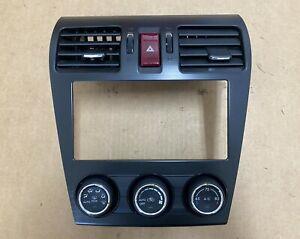 2012 2013 Subaru Crosstrek Impreza Climate Heater Control Bezel Vents OEM