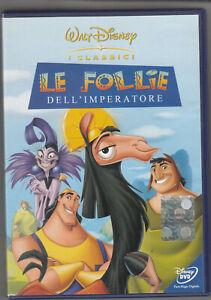 Walt Disney: Le follie dell'imperatore DVD in Italiano