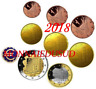 Série 1 Cent à 2 Euro BU Andorre 2018 - Brillant Universel