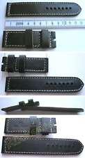 NUOVO Steinhart XXL-lunghezza di bracciale Juchtenleder 26-26mm per fibbia larga