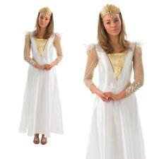 Disney Glinda Costume Ladies Wizard Of OZ Good Witch Fancy Dress Outfit
