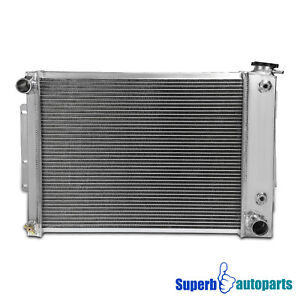For 1967-1969 Aluminum Racing Cooling Radiator Chevy Camaro Pontiac 3 Row Core