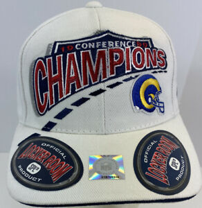 St. Louis Rams 1999 Conference Champions Vintage Hat NFL Football NFC SPL28 New