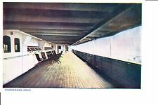 United Fruit Company  Steamship S.S. Metapan   Promenade Deck @ 1915-20