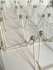 """Lot of 25 Gibson 2A Adjustable Wire Display Book Easels / Holders 3.75""""Wx4.75""""H"""