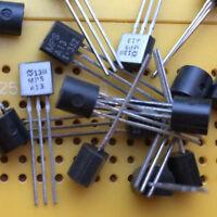 0.5A 30V NPN Darlington Pair Transistor MPSA13  High Gain hfe:5000 625mW TO-92