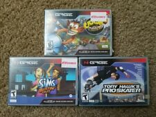 Lot of 3 Nokia N-Gage Crash Nitro Kart + Sims Bustin out + Tony Hawk: Proskater