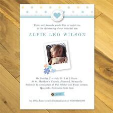 25 Personalised Christening Invitations Naming Day invites boys girls