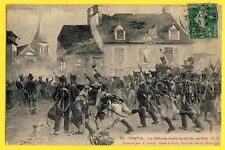 CPA France BATAILLE de PARIS PANTIN La Défense contre les Alliés en 1814