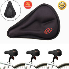 Bike Extra Comfort Soft Gel Pad Cushion Saddle Seat Cover MTB Bicycle Cycle Pads