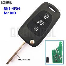 Car Remote Control Key Fob for KIA Rio RKE-4F03 or RKE-4F04 433MHz PCF7936 Chip