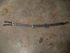 2015 14 16 MAZDA 3 2.0L 6 SPEED MANUAL SHIFT SHIFTER CABLE CABLES