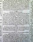 JAMES MONROE United States Presidential Election WIN in 1817 American Newspaper