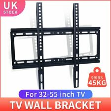 TV Wall Mount Bracket Ultra Slim Flat Plasma LCD LED 32''-55'' inch