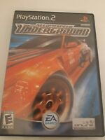 Need for Speed Underground Complete PS2 Sony Playstation 2