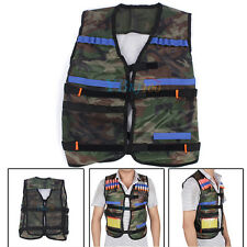 Adjustable Tactics Vest W/ Storage Pocket for Nerf N-Strike Accessory Uniform