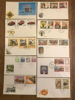 50 first day covers.