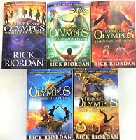 Heroes of Olympus Collection Rick Riordan 5 Books Collection
