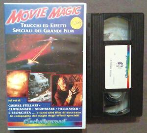 VHS Film Ita Documentario MOVIE MAGIC 2 Cinehollywood 1996 ex nolo no dvd cd(V56