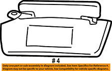 FORD OEM Explorer Sport Trac Headliner-Sunvisor Sun Visor Left F77Z7804105DAA