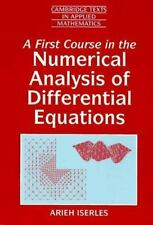 A First Course in the Numerical Analysis of Differential Equations Cambridge Te