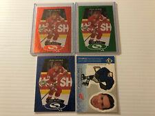 98-99 UD CHOICE STARQUEST SET BLUE , GREEN & RED + BOBBLEHEAD STEVE YZERMAN