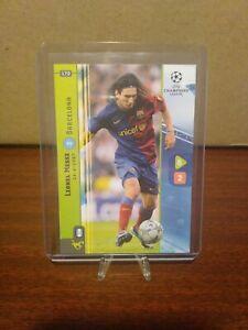 2008-09 Panini UEFA Champions League Game Lionel Messi #170