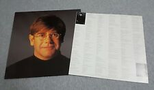 Elton John ~ Believe ( Made in the USA ) 33RPM Lp