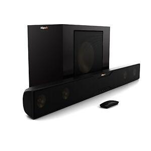 """Klipsch R-20B Sound Bar / Wireless 10"""" Subwoofer B Stock Bluetooth Best Sounding"""