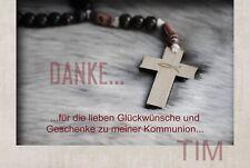 10 Kommunion Konfirmation Taufe Foto Einladungskarten Dankeskarten Fotokarten