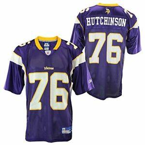 Reebok Minnesota Vikings Steve Hutchinson #76 NFL Men's Jersey, Purple