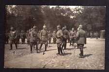 109554 AK Jelgava Mitau Kaiserbesuch Lettland 1916 Kaiser Hindenburg von Falkenh