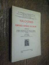 Halogène et  composés oxygénés du chlore