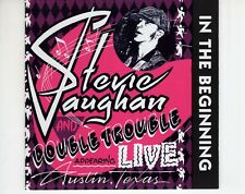 CD STEVIE RAY VAUGHAN	in the beginning live	AUSTRIA 1992 EX (A4226)