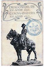 dragoni del re genova cavalleria