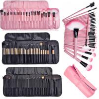 32 Pcs/set Kabuki Make-up Brush Professional Eye Cosmetic Brushes with Case Kit