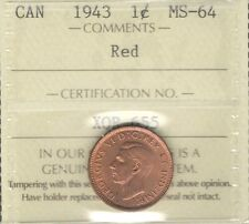 1943 copper cent in Coins: Canada | eBay