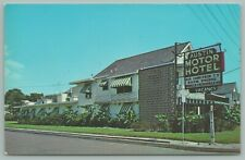 Beaumont Texas~Austin Motor Hotel~Neon Vacancy Sign~1960s