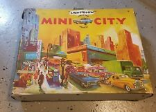 1970 Matchbox Lesney Light Glow Mini City Vintage Case Collector Playset