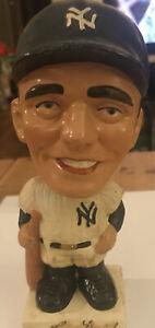 Roger Maris New York Yankees 1961 Vintage Bobblehead Nodder Square Base