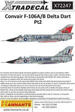 XTRADECAL 1/72 CONVAIR F-106A/B DELTA DART parte 2 # 72247