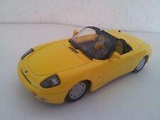 Modellauto Fiat Barchetta Cabrio maxi car gelb 1:43