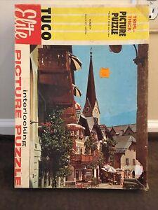 """Vintage Tuco Elite No. 1500:5 Picture Puzzle """"Hallstatt,Austria"""" Tripl-Thick A57"""