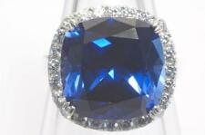 Unbranded Cushion Sapphire Costume Rings