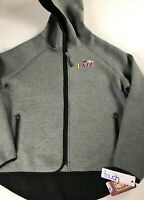 New Orleans Jazz Jacket Womens L/XL Drop Kick NBA Basketball Hooded Zip Pockets