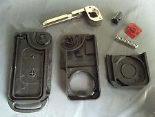 For Mercedes A C E S Class 2 Button IR Remote Flip Key Case Shell & Blade HU39