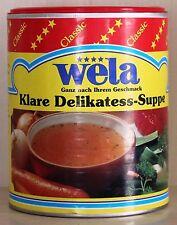 Wela klare Delikateß Suppe / Paste 62 5liter