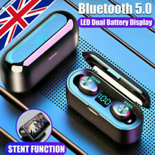 Wireless earbuds, in ear earphones, for Samsung, iphone, etc, autoconnect.